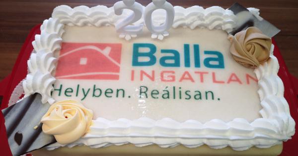 Ma 20 éves a piac legidősebb ingatlanközvetítő hálózata, a Balla Ingatlan